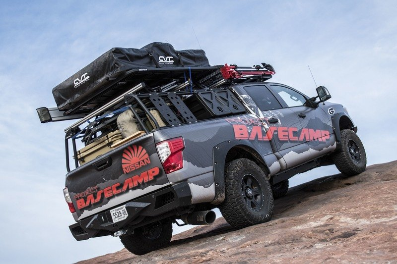 Nissan Titan XD PRO-4X Project Basecamp Exterior High Resolution - image 716266