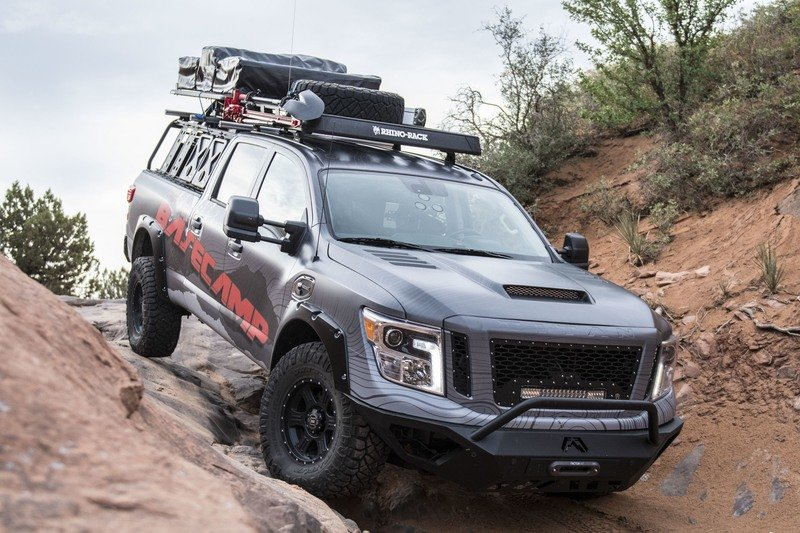 Nissan Titan XD PRO-4X Project Basecamp Exterior High Resolution - image 716268