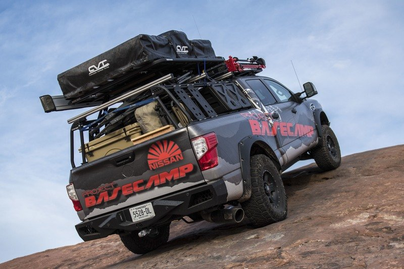Nissan Titan XD PRO-4X Project Basecamp Exterior High Resolution - image 716272