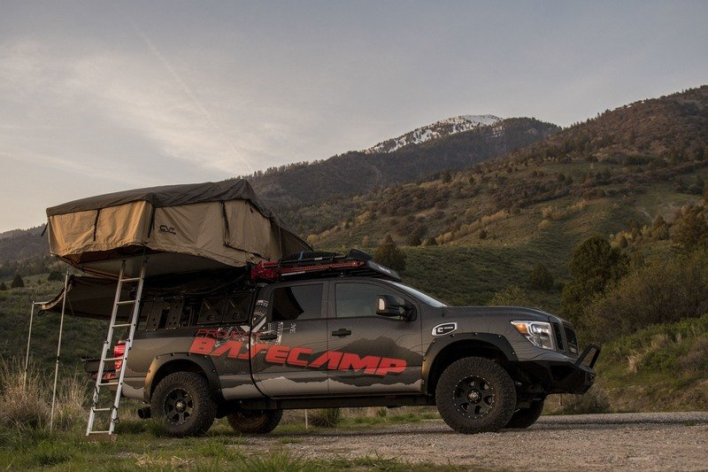Nissan Titan XD PRO-4X Project Basecamp Exterior High Resolution - image 716278