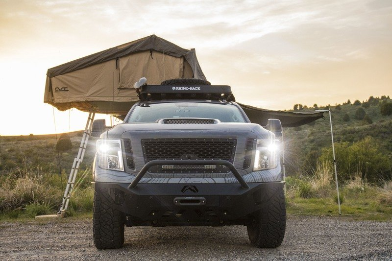 Nissan Titan XD PRO-4X Project Basecamp Exterior High Resolution - image 716281