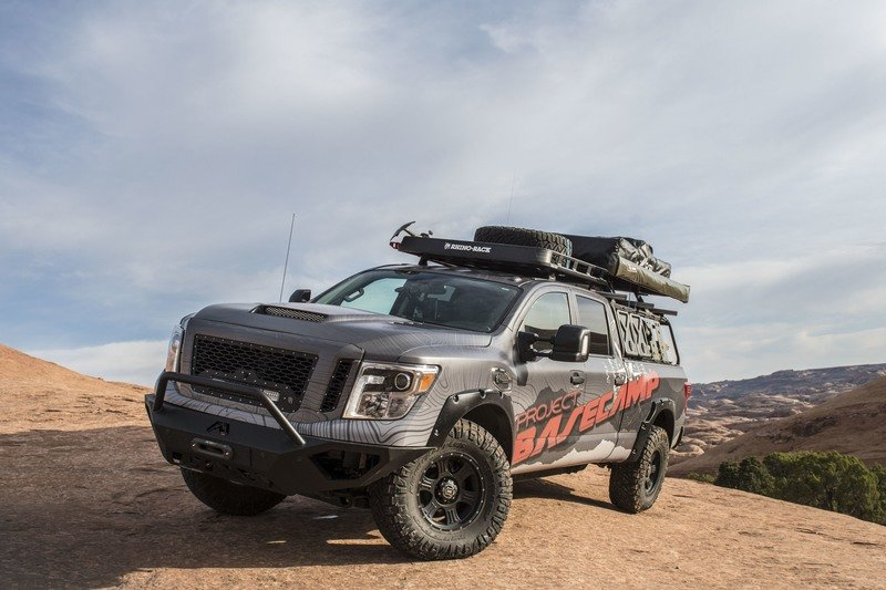 Nissan Titan XD PRO-4X Project Basecamp Exterior High Resolution - image 716257