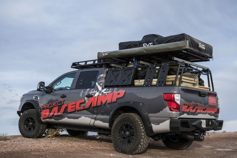Nissan Titan XD PRO-4X Project Basecamp Exterior High Resolution - image 716262