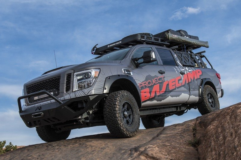 Nissan Titan XD PRO-4X Project Basecamp Exterior High Resolution - image 716254