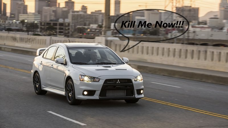 Pops' Rants: The Mitsubishi Lancer Needs to Die Already