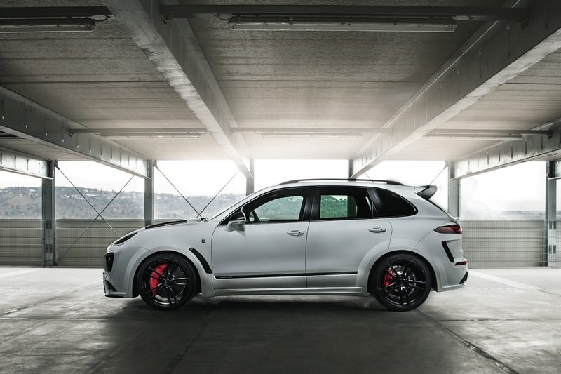 "2017 Porsche Cayenne Turbo S Magnum Sport ""Edition 30 Years"" by TechArt Exterior High Resolution - image 715162"