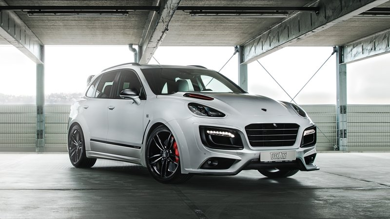 "2017 Porsche Cayenne Turbo S Magnum Sport ""Edition 30 Years"" by TechArt"