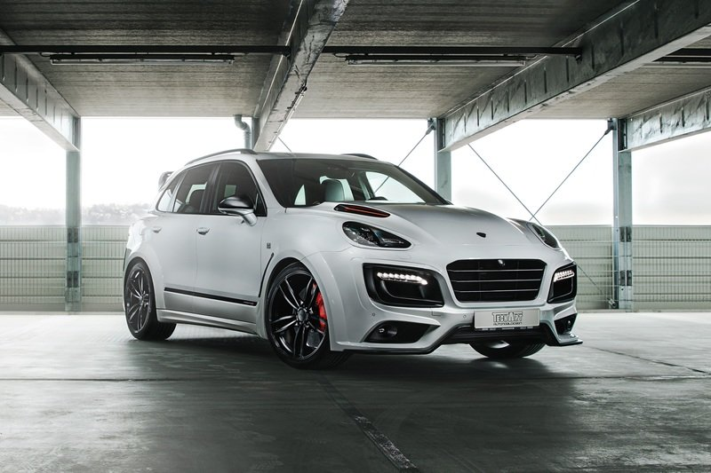 "2017 Porsche Cayenne Turbo S Magnum Sport ""Edition 30 Years"" by TechArt Exterior High Resolution - image 715161"