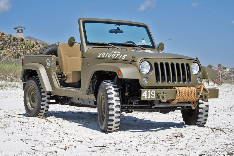 Quick Drive: Jeep 75th Salute Concept Exterior High Resolution - image 715047