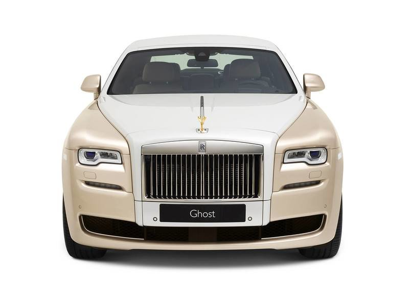 2017 Rolls-Royce Ghost Inspired by Ancient Trading Routes