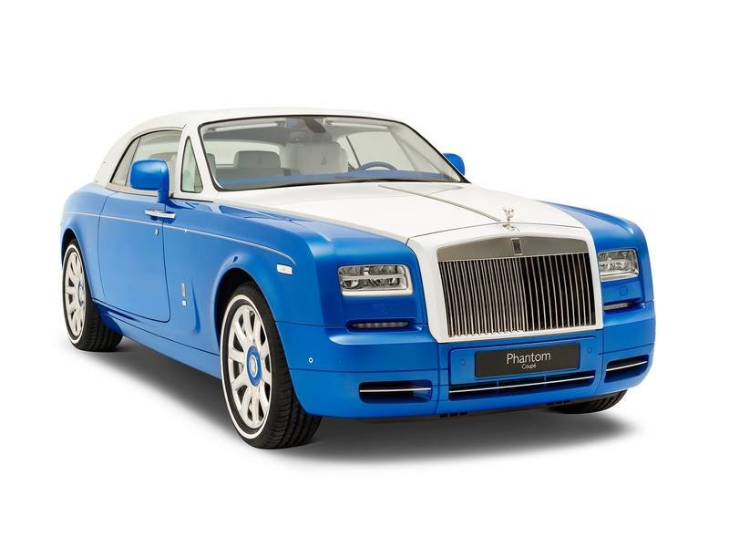 2017 Rolls-Royce Phantom Coupe Inspired by Qasr-Al Hosn Exterior High Resolution - image 715921