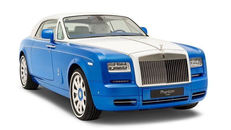 2017 Rolls-Royce Phantom Coupe Inspired by Qasr-Al Hosn