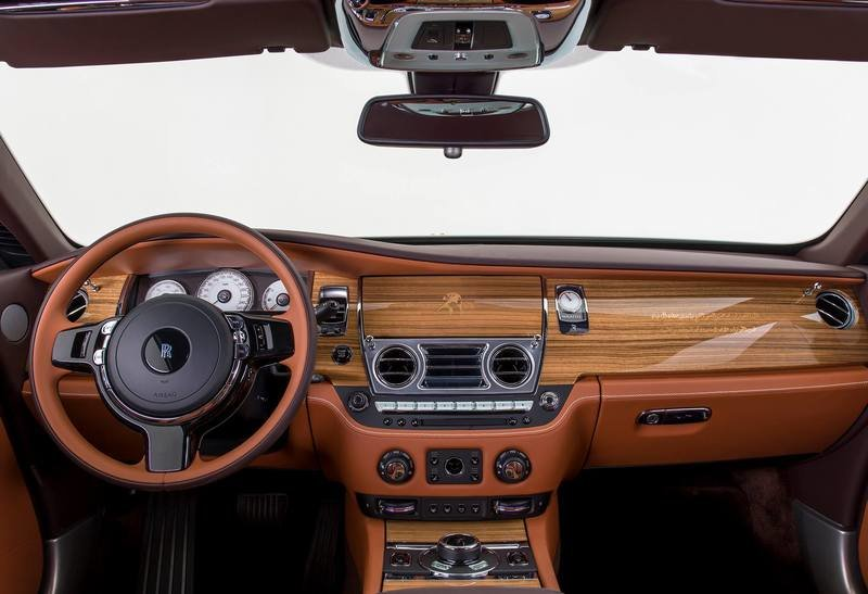 2017 Rolls-Royce Wraith Inspired by Falconry Interior High Resolution - image 715730