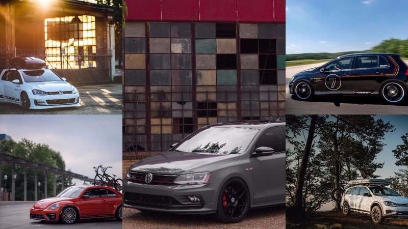 Volkswagen Debuts Five Enthusiast Builds With Tasty Modification Ideas