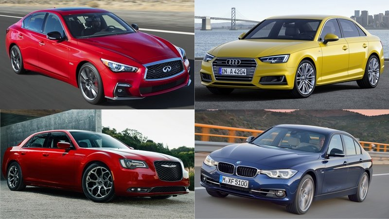 What's The Best Sporty Luxury Sedan You Can Get For Less Than $50K?
