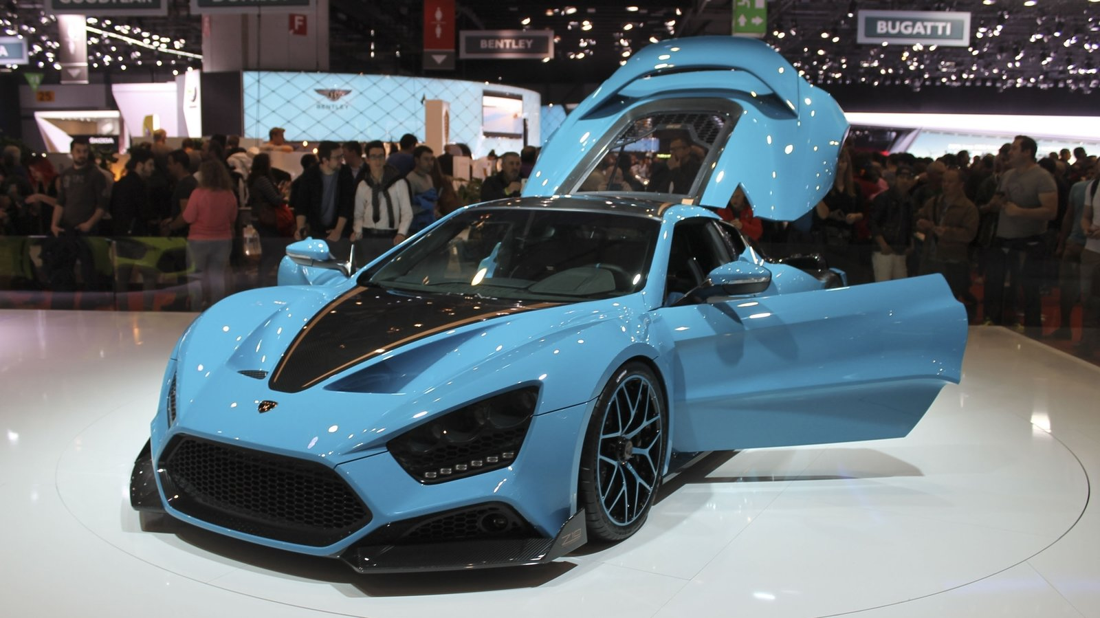 Zenvo Ts1 Gt 10th Anniversary Limited Edition Top Speed