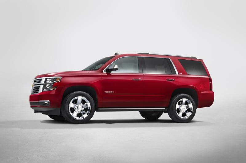2015 Chevrolet Tahoe High Resolution Exterior - image 720800