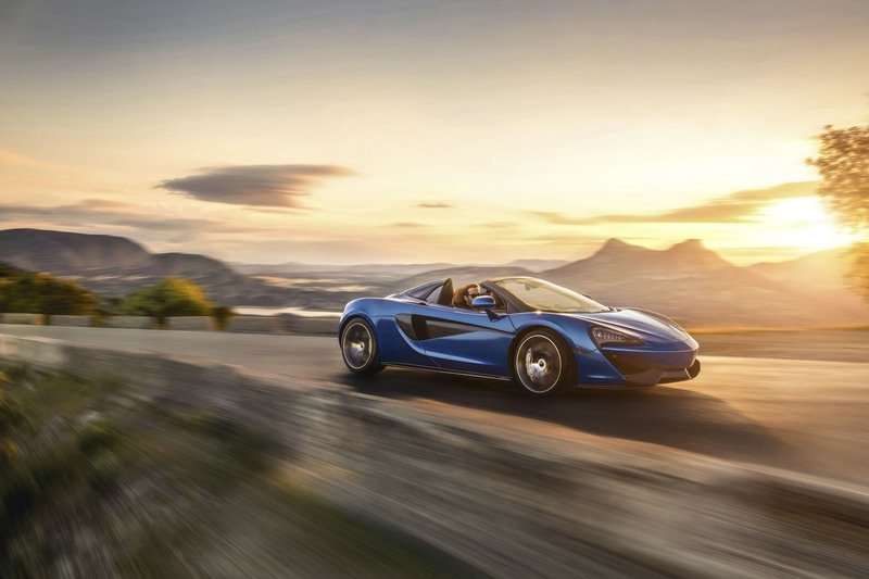 2018 McLaren 570S Spider Exterior High Resolution Wallpaper quality - image 720023