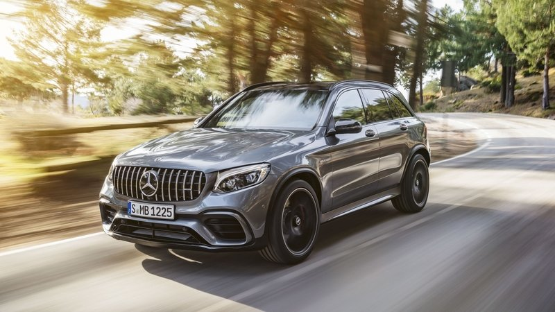 2018 Mercedes-AMG GLC63 Exterior High Resolution - image 721666