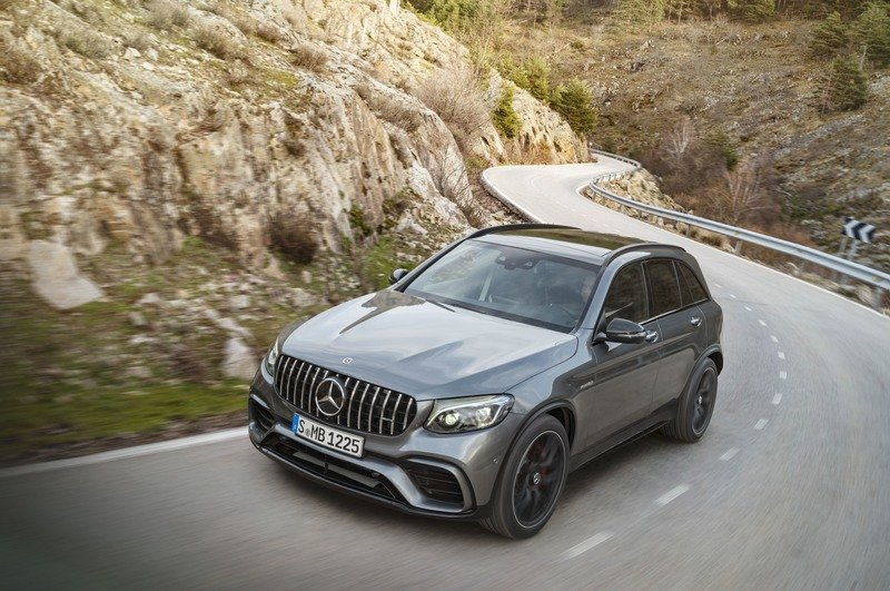 2018 Mercedes-AMG GLC63 Exterior High Resolution - image 721542