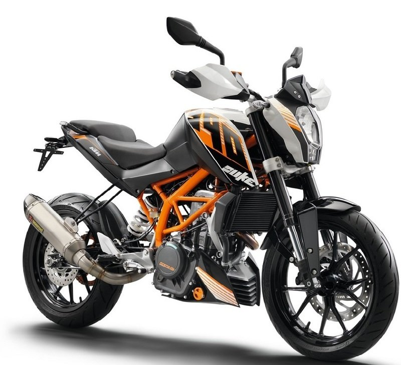 2017 ktm duke 390 review - top speed