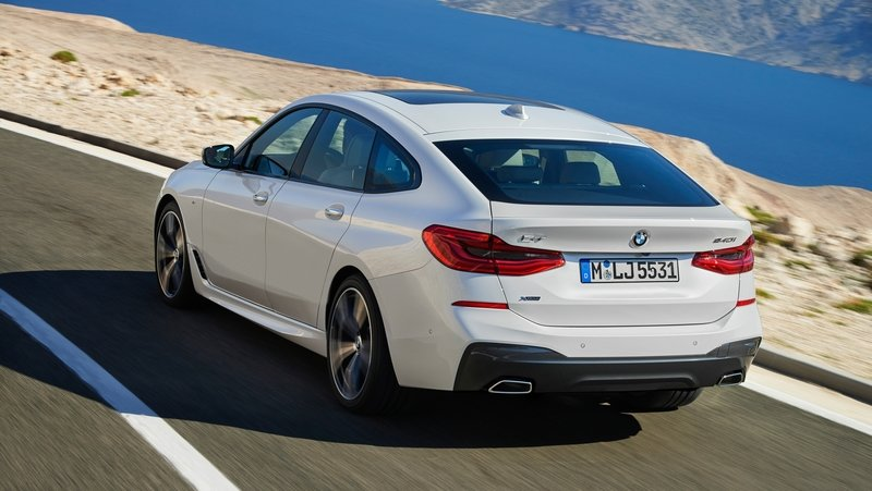 2018 BMW 6 Series Gran Turismo Unveiled