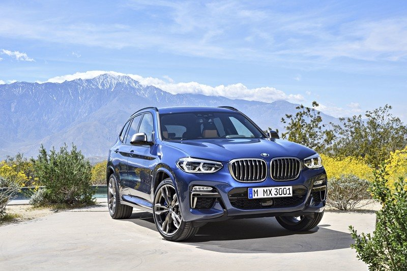 2018 BMW X3 High Resolution Exterior - image 721343