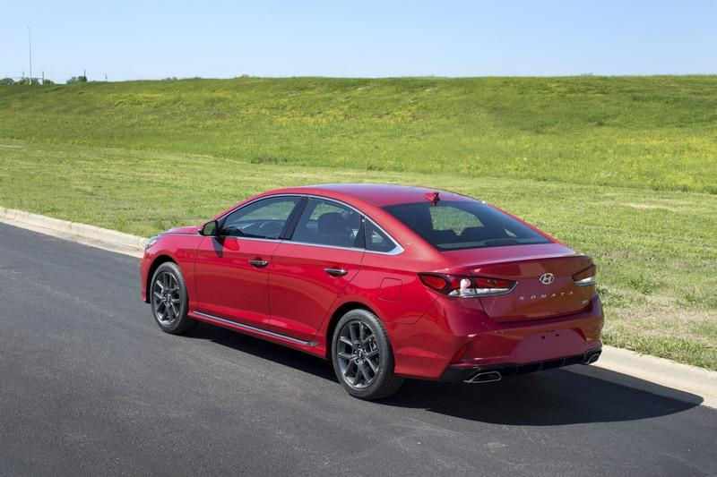 2018 Hyundai Sonata Exterior High Resolution - image 720502
