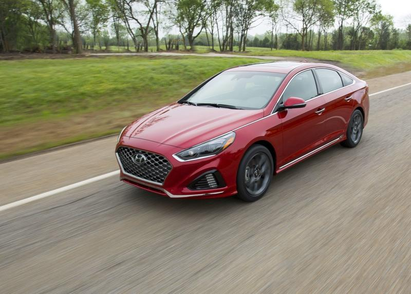 2018 Hyundai Sonata Exterior High Resolution - image 720507