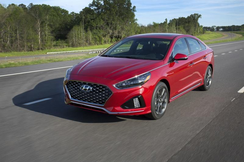 2018 Hyundai Sonata Exterior High Resolution - image 720512