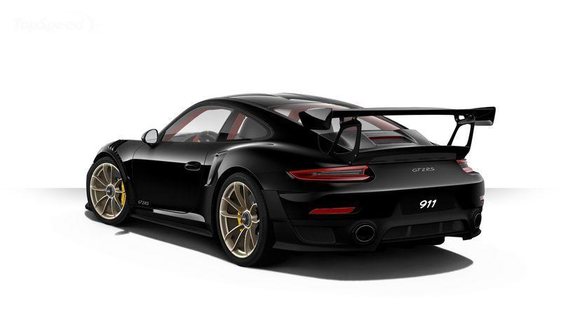 Configure the Porsche 911 GT2 RS you can't afford
