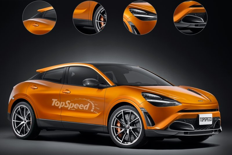 2020 McLaren SUV Exclusive Renderings Computer Renderings and Photoshop - image 721467