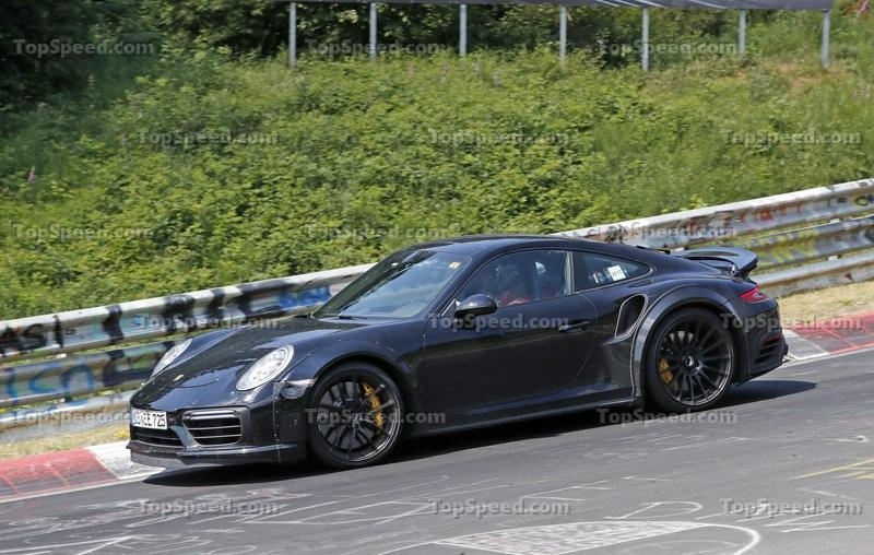 2020 Porsche 911 Turbo Top Speed