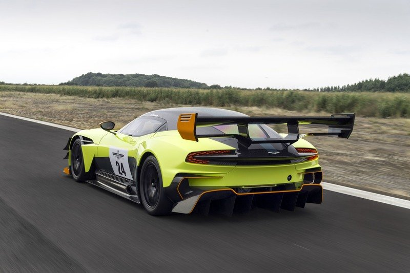 2018 Aston Martin Vulcan AMR Pro Exterior High Resolution Wallpaper quality - image 721705