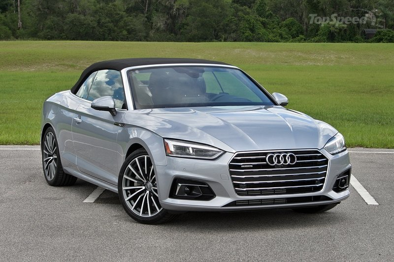 2018 Audi A5 Cabriolet Driven Top Speed