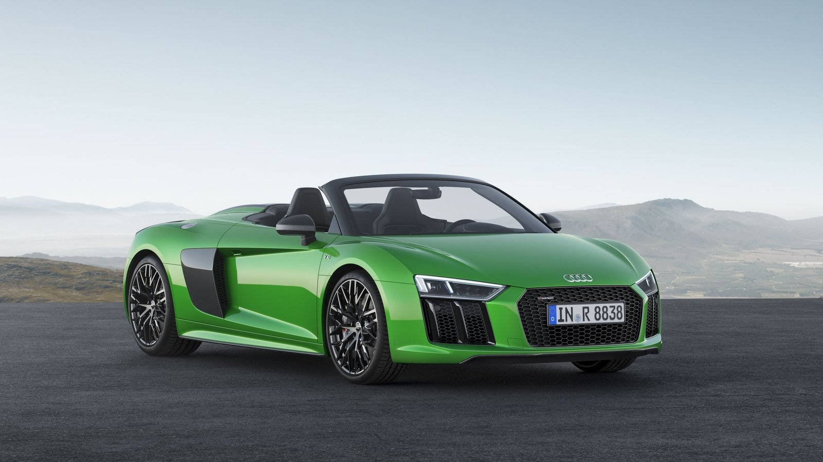 2018 Audi R8 Spyder V10 Plus Pictures Photos Wallpapers And Video