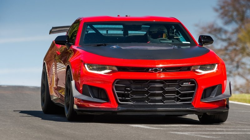 Chevrolet Camaro ZL1 1LE Sets Camaro Record At Nurburgring