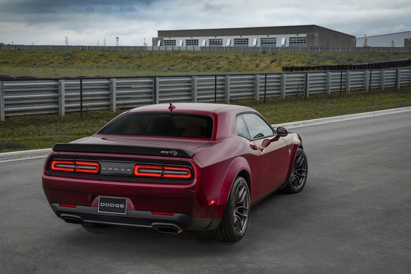 2018 Dodge Challenger Srt Hellcat Wide Body Top Speed
