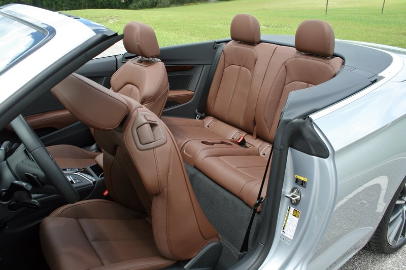 First Impressions: 2018 Audi A5 Cabriolet Interior High Resolution Exclusive Photos - image 720634