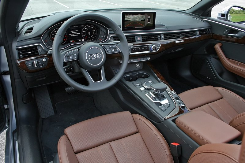 First Impressions: 2018 Audi A5 Cabriolet Interior High Resolution - image 720635