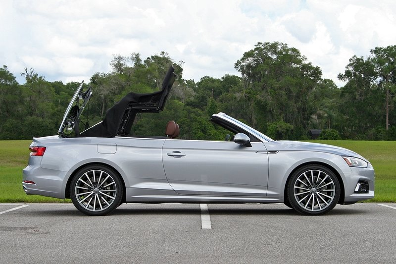 First Impressions: 2018 Audi A5 Cabriolet Exterior High Resolution Exclusive Photos - image 720619