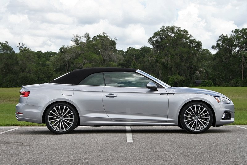 First Impressions: 2018 Audi A5 Cabriolet Exterior High Resolution Exclusive Photos - image 720620