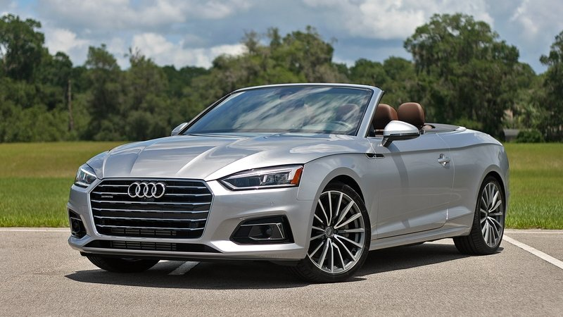 First Impressions: 2018 Audi A5 Cabriolet Exterior High Resolution Exclusive Photos - image 720613