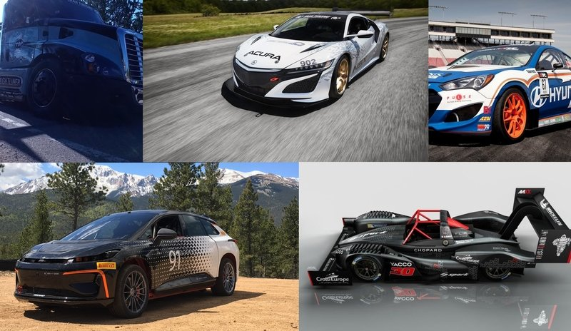 Five Cars To Keep An Eye On At Pikes Peak This Year