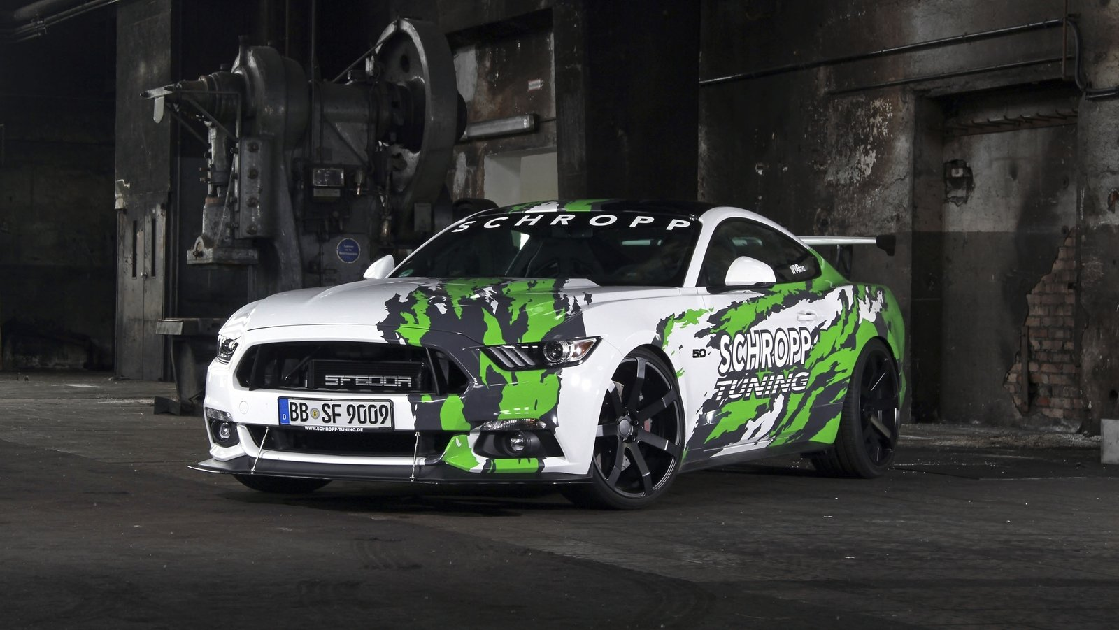 2017 ford mustang sf600r by schropp tuning review top speed. Black Bedroom Furniture Sets. Home Design Ideas