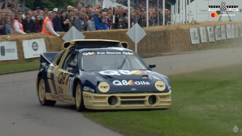 Ford RS200 Evolution has a Bad Day at Goodwood - image 721961