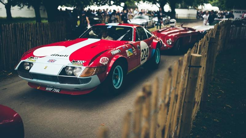 Goodwood Festival Of Speed Pays Tribute To Seven Decades Of Maranello's Finest