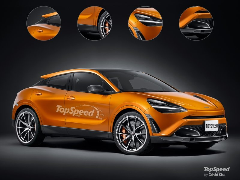 2020 McLaren SUV Exclusive Renderings Computer Renderings and Photoshop - image 720817