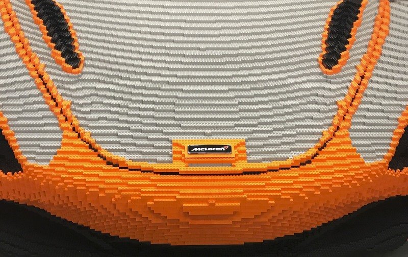 McLaren Wants You To Help Finish Its 1:1 Scale Lego 720S At The Goodwood Festival Of Speed