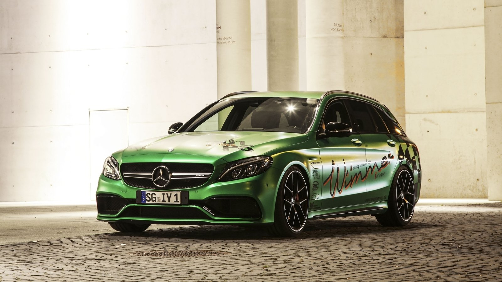 2017 mercedes amg c63 estate by wimmer rs top speed. Black Bedroom Furniture Sets. Home Design Ideas